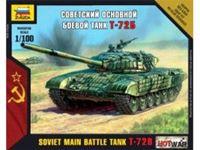 Immagine di Zvezda - 1/100 T-72 Russian Tank NUOVO STAMPO 7400ZS