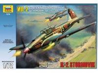 Immagine di Zvezda - 1/72 ILYUSHIN IL-2M SOVIET WWII GROUND ATTACK AIRCRAFT 7279ZS