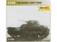 Immagine di Zvezda - 1/100 T-60 Soviet Light Tank 6258ZS