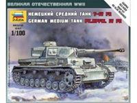 Immagine di Zvezda - 1/100 Panzer IV Ausf.H 6251ZS