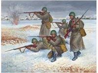 Immagine di Zvezda - 1/72 Soviet Infantry (Winter uniform) 6197ZS