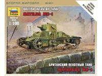 Immagine di Zvezda - 1/100 British Infantry Tank Matilda Mk I 6191ZS