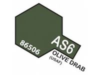 Immagine di Tamiya - Smalto spray AS-6 Olive Drab (USAAF) 100 ml 86506