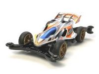 Immagine di Tamiya - mini4WD AERO MANTA RAY Black Metallic AR 94989