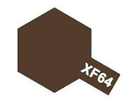 Immagine di Tamiya - Vernice acrilica opaca XF64 Red Brown 10 ml 81764