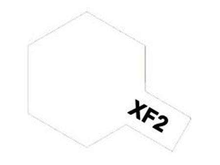 Immagine di Tamiya - Vernice acrilica opaca XF2 Flat White 10 ml 81702