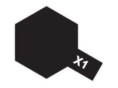 Picture of Tamiya - Vernice acrilica lucida X1 Black 10 ml 81501