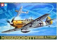 Immagine di Tamiya - Messerschmitt Bf109E-4/7 Trop 1/48 61063