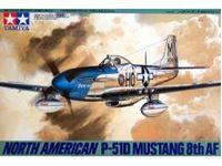 Immagine di Tamiya - N.A.P-51D Mustang 8th AF 1/48 61040