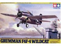 Immagine di Tamiya - Grumman F4F-4 Wildcat 1/48 61034
