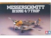 Immagine di Tamiya - Bf109E-4/7 TROP 1/72 60755