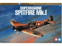 Immagine di Tamiya - Supermarine Spitfire MK1 1/72 60748