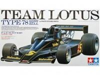 Immagine di Tamiya - 1/20 Team Lotus Type 78 1977 - con fotoincisioni 20065