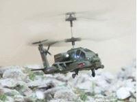 Immagine di Syma - Sym Apache elicottero radiocomandato 3 CH R/C S109G