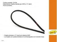 Immagine di Slot.it - Cinghia dentata Z=111 per sistema 4WD CH104