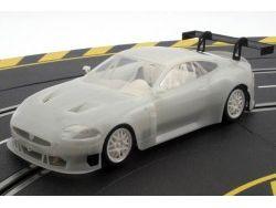 Scaleauto - Jaguar xkr- rsr gt2 white body racing kit SC-7019 : Scaleauto modelli auto 1/24 e 1/32