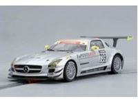 Immagine di Scaleauto - Mercedes SLS AMG GT3 Nurburgring 2010  #739 SC-6016b