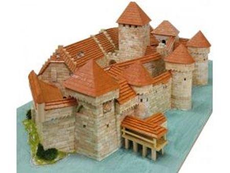 Immagine di 1/190 Chateau de Chillon Veytaux-Suisse S.XII 680x340x215mm (Pcs.8900)