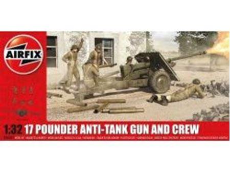 Immagine di AirFix - 17 Pdr Anti-Tank Gun A06361