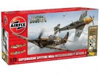 Immagine di AirFix - Dogfight Double Spitfire 1A/BF 109E A50135