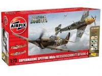 Immagine di AirFix - Dogfight Double Spitfire 1A/BF 109E A50135