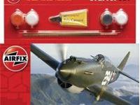 Immagine di AirFix - Curtiss P-40B Kittyhawk  - Small Starter Set A55101