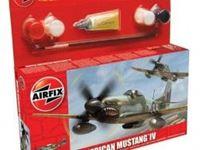 Immagine di AirFix - P-51D Mustang   - Small Starter Set A55107