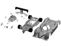 Immagine di Avant Slot - Kit plastica LMP10 20203