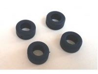 Immagine di BRM Slot Racing - NASCAR tyres for S-128 wheels - standard 30 shore (x4) S-129