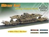 Immagine di Dragon - 1/144 M?RSER KARL ON RAILWAY TRANSPORT CARRRIER (2 pz.) 14509D