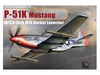 Immagine di Dragon - 1/32 P-51K Mustang w/4.5 inch M10 Rocket Launcher 3224D