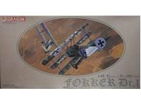 Immagine di Dragon - 1/48 FOKKER DR.I First World War Centenary Special Edition 5901D