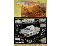 Immagine di Dragon - 1/35 Sd.Kfz. 171 PANTHER D w/ZIMMERIT 6428D