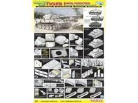 Immagine di Dragon - 1/35 Pz.Kpfw.IV Ausf.E Tiger I Initial Production, s.Pz.Abt.502 (SMART KIT) 6600D