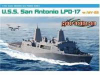 Immagine di Dragon - U.S.S. San Antonio LPD-17 w/MV22B 7096D