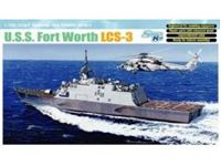 Picture of Dragon - 1/700 U.S.S. Freedom LCS-3 Fort Worth - SMART KIT 7129D