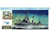 Picture of Dragon - 1/700 GERMAN Z-38 DESTROYER (SMART KIT) 7134D