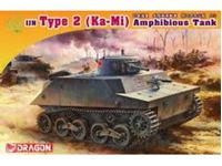 Immagine di Dragon - 1/72 IJN Type 2 (Ka-Mi) Amphibious Tank Combat Version 7435D