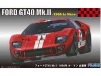 Immagine di Fujimi - Kit 1/24 Ford GT40 Le Mans 1966 12606