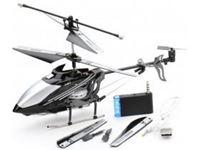 Immagine di GoldLight - Elicottero radiocomandato 3 canali x Iphone GLT777-173