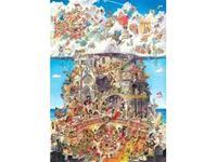 Immagine di PUZZLE TRIANGOLARI 1.500 PEZZI Prades Heaven Hell