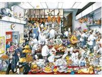 Immagine di PUZZLE TRIANGOLARI 1.500 PEZZI Bon app?tit!, Blachon