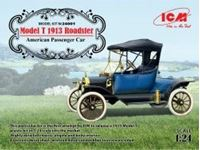 Immagine di ICM - 1/24 Model T 1912 Roadster, American Passenger Car 24001