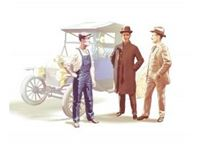 Immagine di ICM - 1/24 Henry Ford & Co (3 figures) (100% new molds) 24003