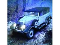Immagine di ICM - 1:24 Typ G4 with open cover, WWII German Personnel Car 24012