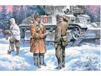 Immagine di ICM - 1:35 - Red Army Infantry (1939-1942) (3 figures - officer, 2 soldiers) 35051
