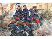 Immagine di ICM - 1:35 - French Line Infantry (1870-1871) (4 figures - 1 officer, 3 soldiers) 35061