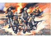 Immagine di ICM - 1:35 - US Elite Forces in Iraq (4 figures - 4 soldiers) 35201