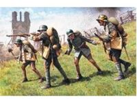 Immagine di ICM - 1:35 - German Assault Troops (1917-1918) (4 figures - 1 unterofficer, 3 soldiers) 35291