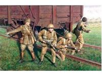 Immagine di ICM - 1:35 - British Infantry (1917-1918) (4 figures - 1 officer, 3 soldiers) 35301
